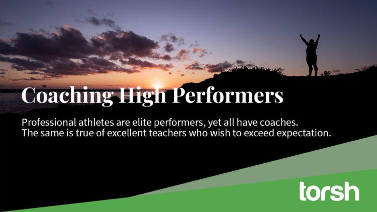 Coaching High Performing Teachers