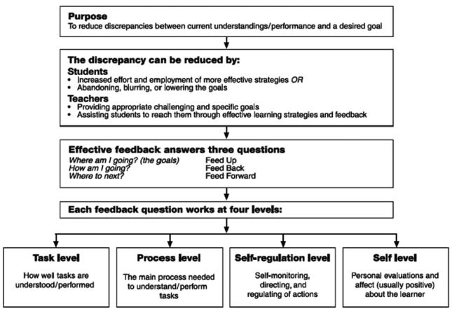 Hattie Model of Feedback
